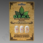 OPMs Kratom Gold 3ct. (Organically Purified Mitragyna speciosa All Natural Extract) upcharges may apply, see description.