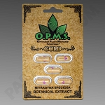 OPMs Kratom Gold 5ct. (Organically Purified Mitragyna speciosa All Natural Extract) upcharges may apply, see description.