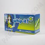 Whip It Case of Whip Cream CHARGERS 12 x 50 count packs, including ground shipping
