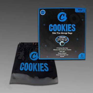 Cookies Odor-Free Bags Large 6pk