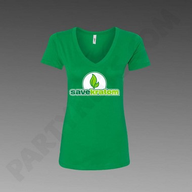 Green Save Kratom Women's T-Shirt (choose size)
