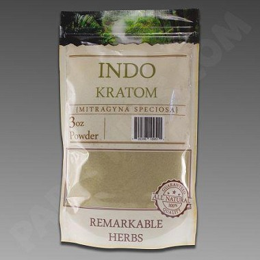 Remarkable Herbs Kratom Indo Powder 3 oz