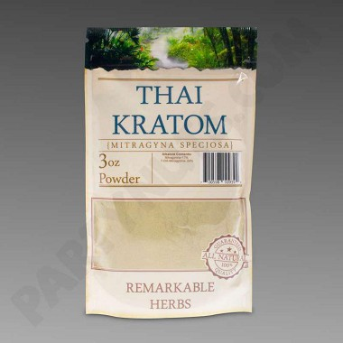 Remarkable Herbs Kratom Thai Powder 3 oz