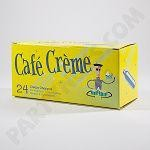 Case of Cafe Cream CHARGERS 25 packs of 24 count case, Ground shipping included