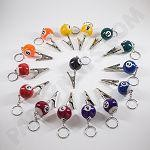 Pool Ball Clip 5pk (6 Colors to Choose from)