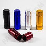 Anodized Aluminum Inflator (5 pack) colors to choose from