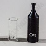 C-Rig STEALTH Metal Sleeve & Glass Dome/mouthpiece(no base)