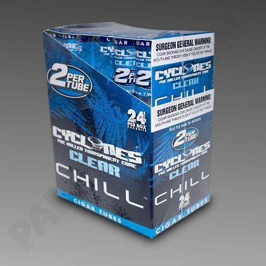 Cyclones Clear Blue Chill 2pk