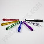 "Anodized 3"" Cigarette one hitter (10 pack) colors to choose from"
