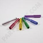 "Anodized 2"" Digger one hitter (10 pack) colors to choose from"