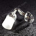 Banger Quartz Domeless Nail with 18/19mm male joint, fits 18/19mm female fitting