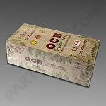 OCB  Organic Hemp 1 1/4  w/ Tips 24ct box
