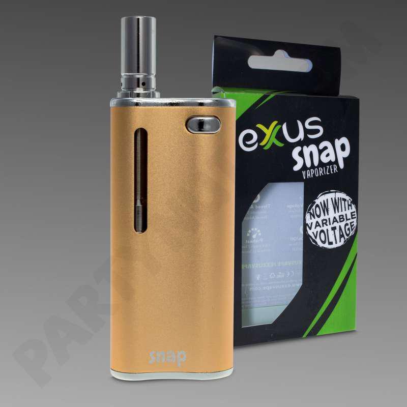 Exxus Snap Gold Concentrate Vaporizer