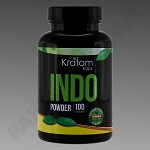 Kratom Kaps; Indo 100g Powder in Bottle