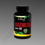 Kratom Kaps; Maeng Da 100g Powder in Bottle