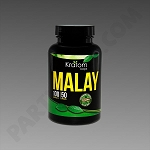 Kratom Kaps; Malay 100 count Bottle. 50 grams
