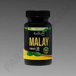 Kratom Kaps; Malay 35g Powder in Bottle