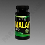 Kratom Kaps; Malay 75 count Bottle. 37.5 grams