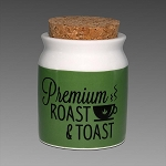 Roast & Toast Ceramic Jar Small