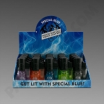 Special Blue Bullet Clear Torch Lighters 20ct (Ground Ship ONLY)