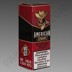 American Cowboy Red 30 ML  35 mg Nic Salt Juiceman's