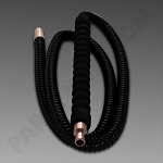 Amira Foam Handle Hookah Hose Gold