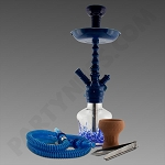 Amira Blizzard 1 Hose Hookah All Blue