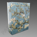 Locking Book Diversion Safe - Van Gogh Almond Blossom