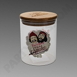 Cheech & Chong Large Glass Jar - Heads