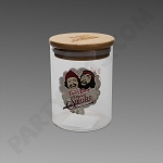 Cheech & Chong Medium Glass Jar - Heads