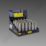 Clipper Mini Lighter 30ct - Metal Cover Dots (Ground Ship ONLY)
