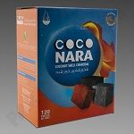 Coco Nara Charcoal Tablets 120ct - Case of 12- Price Includes Shipping