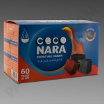 Coco Nara Charcoal Tablets 60ct - Case of 24- Price Includes Shipping