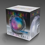 Crystal Ball Wireless Bluetooth Speaker - Silver