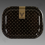 Rolling Tray Small Designer Brown