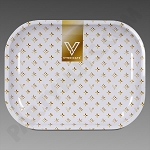 Rolling Tray Small Designer White