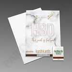 Kush Kards - 4pk - HBD for Pre-Roll (Birthday Card)