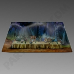 Glass Tray Medium Alice Tea Party by V Syndicate