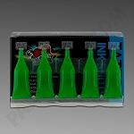 Mom's Nuclear Ink Shots 30ct - Atomic Green - UV Ink