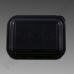 OCB Rolling Tray Lid Small Black
