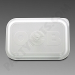 OCB Rolling Tray Lid Medium White