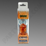 Ooze Cryo Orange Freezable Pipe