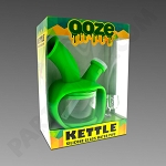 Ooze Kettle Green - Silicone Bubbler