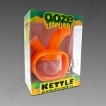Ooze Kettle Orange - Silicone Bubbler