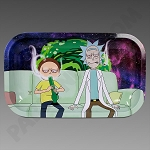 Rolling Tray Med Rick & Morty Sesh