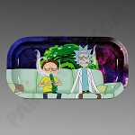 Rolling Tray Slim Rick & Morty Sesh