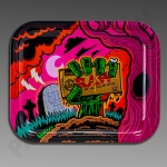 Raw Large Rolling Tray - Zombie