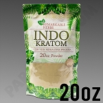 Remarkable Herbs Green Vein Indo Kratom Powder 20 oz Bag
