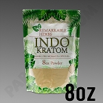 Remarkable Herbs Green Vein Indo Kratom Powder 8 oz Bag 1/2 LB