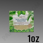 Remarkable Herbs Green Vein Malaysian Kratom Powder 1 oz Bag